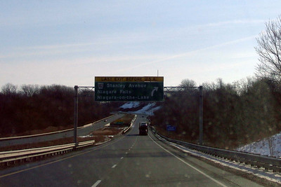 Enroute to Holiday Valley, NY at 9 am
