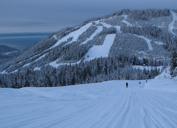 Cypress Morning ski