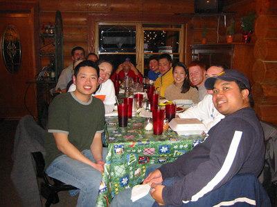 February 2004 - Skiing at Angelfire, New Mexico