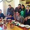 Standing:  Gurbhej, Nameet, Rashmi, Ines. Seated: Rajan, Kalpan & Cyrus
