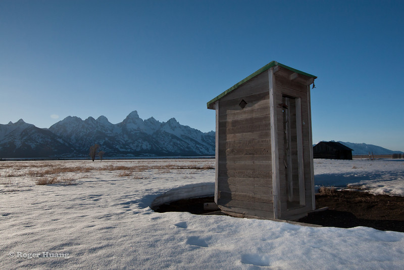 Outhouse with a view!