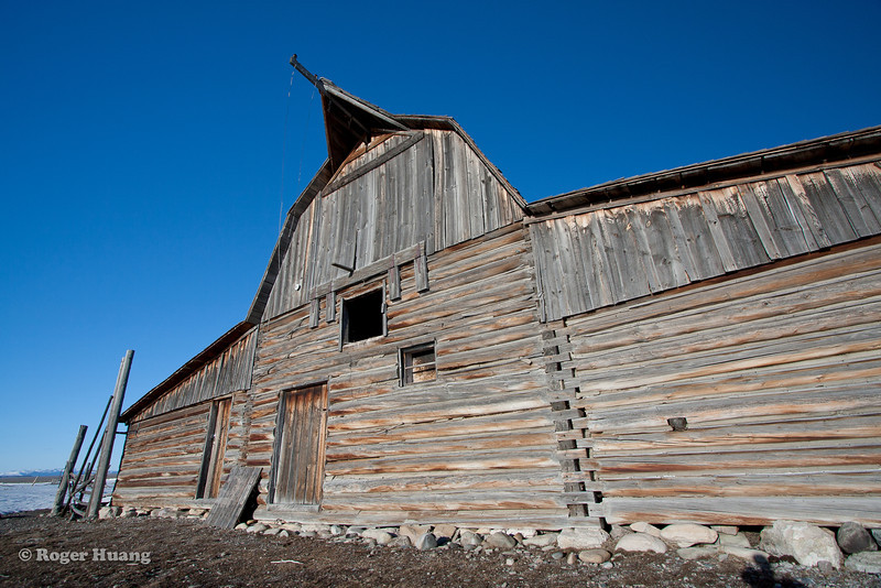 Moulton Barn, located on Mormon Row, which was a early Mormon settlement.