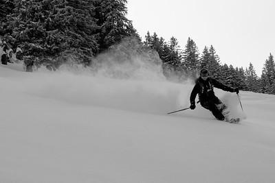 Hey I heard you like to ski pow?