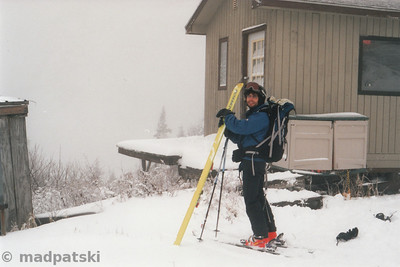 Picture by MadPat: October 25, 2006 : Luc, what are you going with my ski?