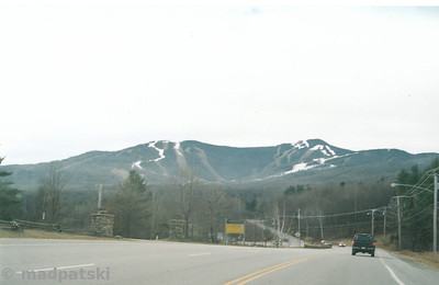 View from the access road.