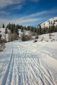 Gunn Ranch Road trail