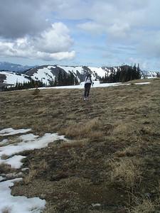 Here I am 'skiing'!  Lazy.