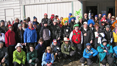 Outdoorsforall Nordic, the gang's all here.