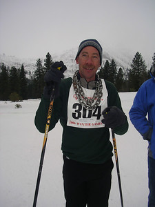 Doc and the chain.  He won the races at regionals, and so had to wear the chain necklace at State!