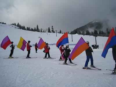 Opening ceremonies at Summit West.