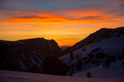 Sunrise at Lake Elinore