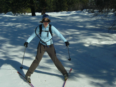 Skiing in the Methow. Happiness!