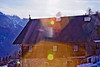 house with sunflare off of FRV