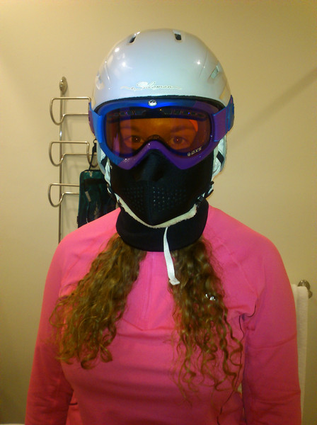 Suitable protection for below-freezing conditions.