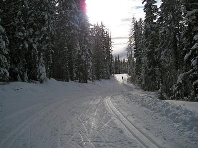 Lots of trailss open.