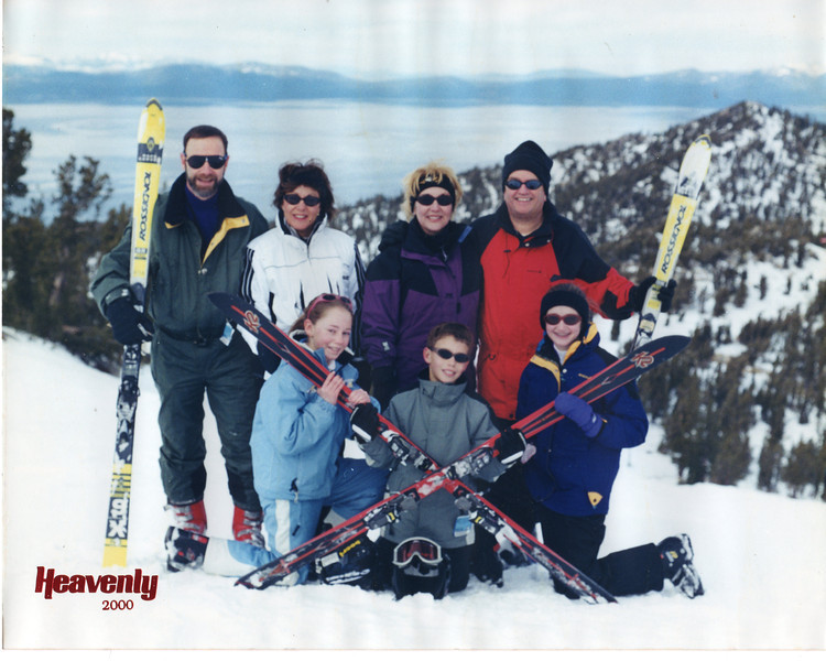 Heavenly, California/Nevada with the Gallaghers - 2000
