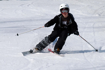 Nick showing off his slalom form