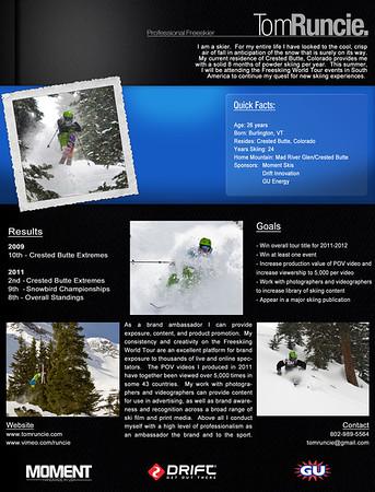 Skiing Promo Stuff
