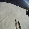 Skiing corn in July!