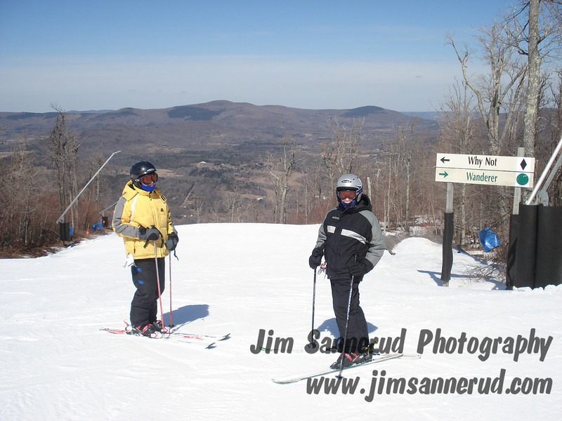At Windham all trails start with the letter W.