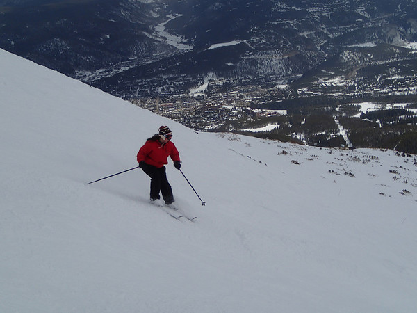 Skiing in Breckenridge 1013-03-29