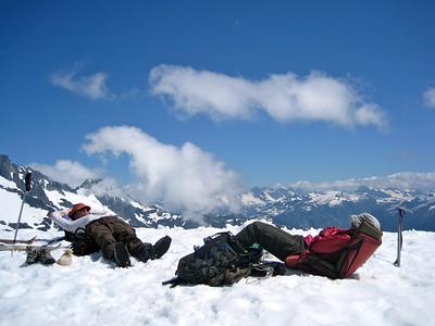 Alpine nap!