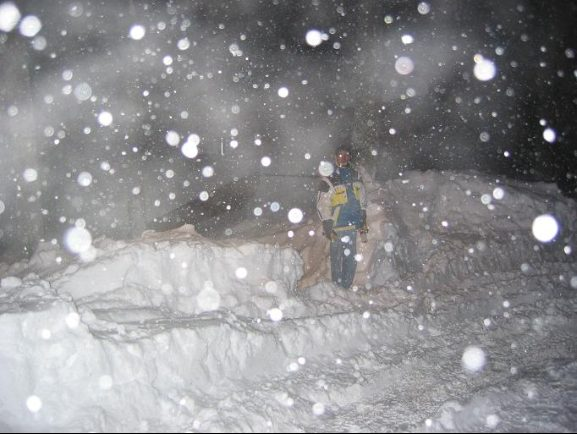Dec. 25th 2002. Crazy Snow at Killington. LIke 6 FEET. Shoveled driveway all night so we'd be able to get out and ski the best East Coast Powder EVER.