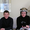 Casey & Brett in the condo in Vail.