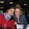 Cousin Jamie & Casey in the airport.