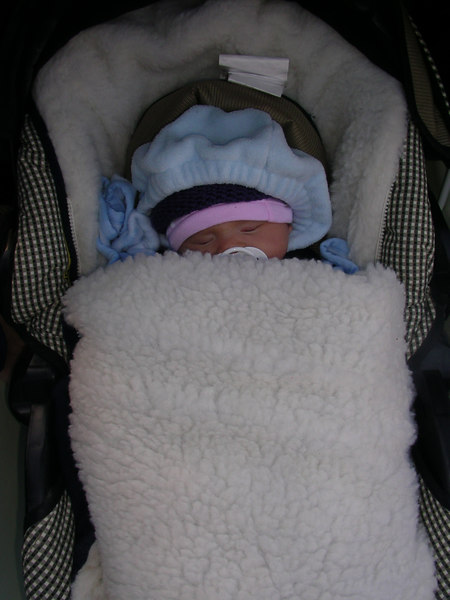 Mom and dad keep me bundled!