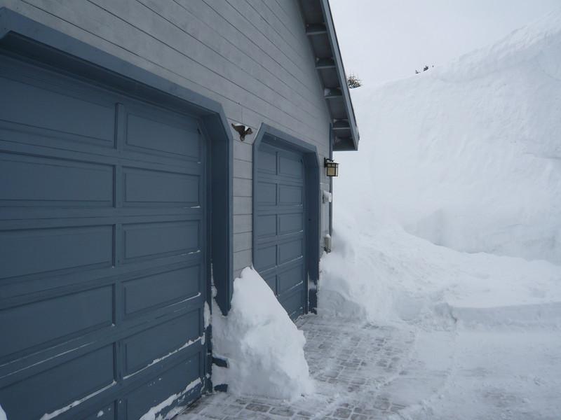 03/22/2011 - Garage Doors After Shovelling