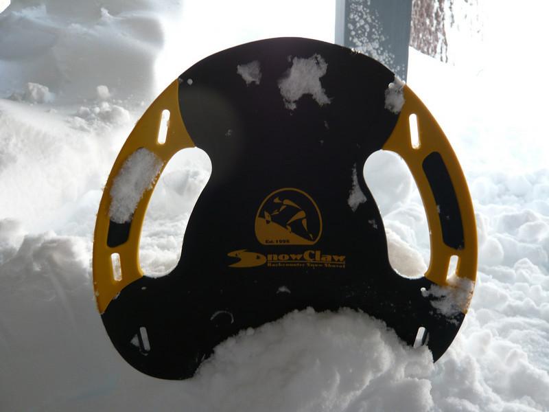 03/28/2011 - Snow Claw Backcountry Snow Shovel