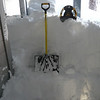 03/28/2011 - Front Door And Deck After First Round Of Shovelling - Snow Claw Didn't Work So Well, Big Shovel Was Better - Snow Is About 4-5 Feet Deep All The Way Out To Driveway
