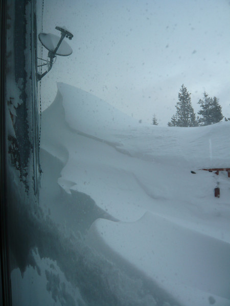 03/25/2011 - Mt. Grizzly From Dining Room Sliding Glass Door