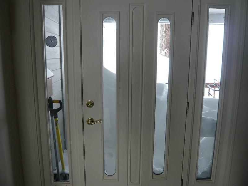 03/22/2011 - Looking Out Front Door