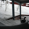 03/22/2011 - Dead Snowblower on Front Deck