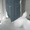 03/22/2011 - Front Deck, Ski Closet Door
