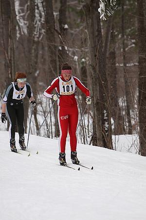 XC Skiing at MMU (Range)  1/22/09