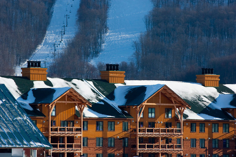 Skiing, Greek Peak Mountain Resort, Hope Lake Lodge