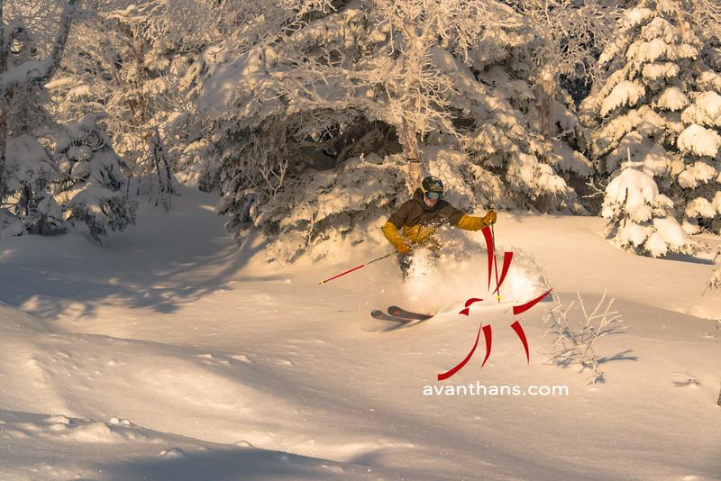 """photo by Hans von Briesen """"In the East, you gotta go to know. Skier: Evan Theurer"""""""