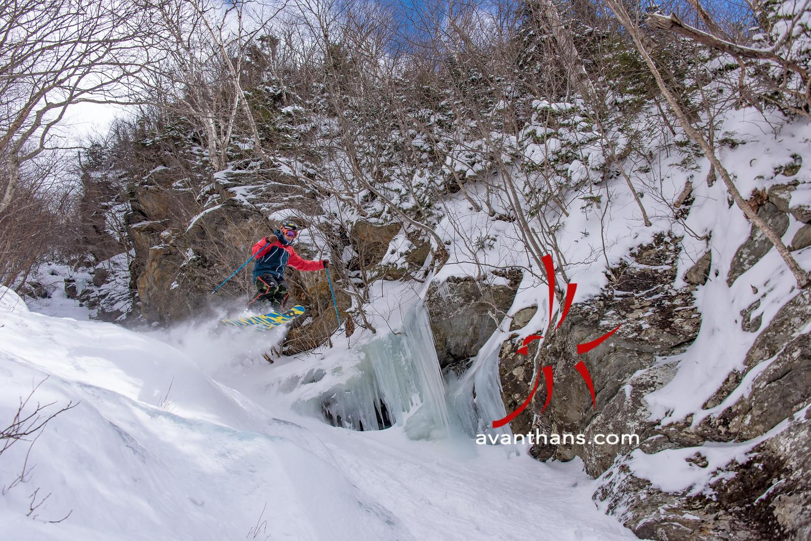 """photo by Hans von Briesen """"A casual warm-up run. Skier: Dylan Dipentima"""""""