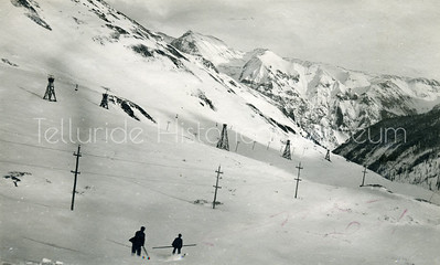 2006-01-099: Skiing Through The Trams At Sunnyside Mine, 1910