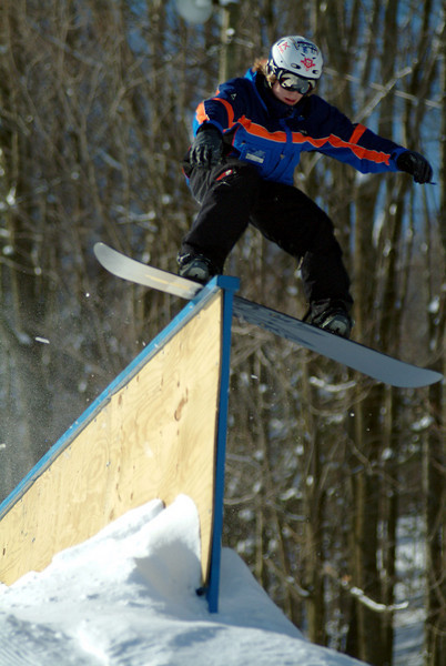 Terrain Park, Rail, Skiing, Greek Peak Mountain Resort