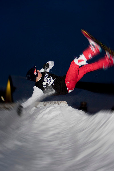 Skiing, Greek Peak Mountain Resort, Rail Jam