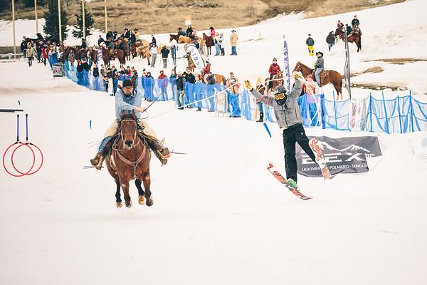 Skijoring Utah 2017 - Competition Photos