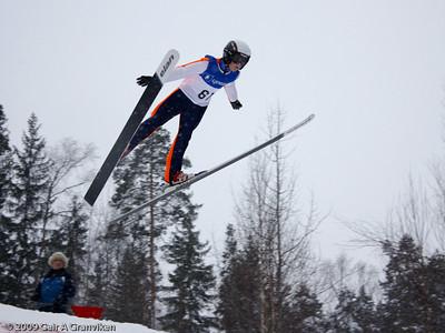 Young recruit in a 36 meters hill (Høvikbakken, Røyken)