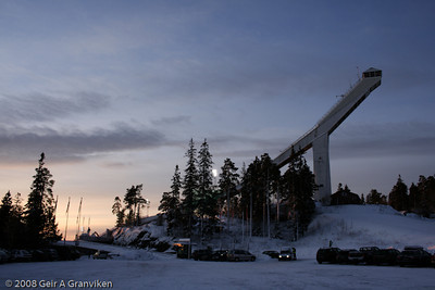 Holmenkollen, Oslo - in it's pre 2010 profile