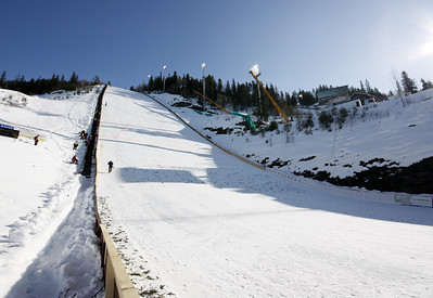 Vikersund ski flying hill 2009