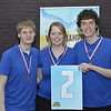 Winnaars Office ICT Team Challenge:<br /> Stephan Römer, Yvette Kuipers, Robert-Jan Neijland