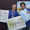 Winnaars Office ICT Team Challenge:<br /> Merijn Geurts, Matthijs Nagel